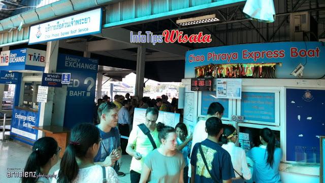 tiket boat chao phraya
