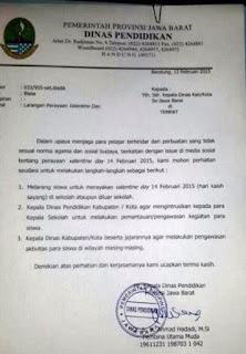 Ridwan Kamil Jangan Merayakan Valentine Portal Islam