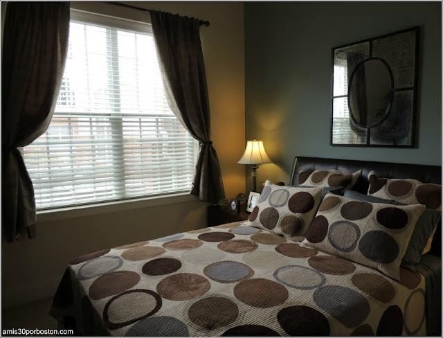 Dormitorio del Piso Piloto
