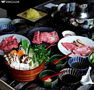 Makan Malam Di Shabu Gen Seolah Olah Sedang Berada DI Jepang