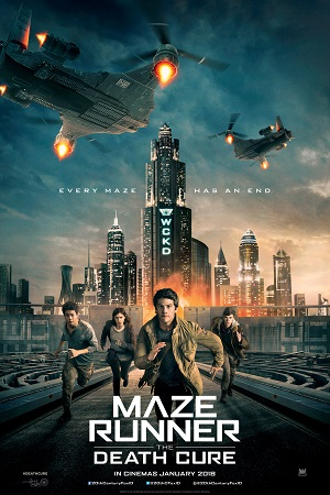 Jadwal MAZE RUNNER: THE DEATH CURE di Bioskop
