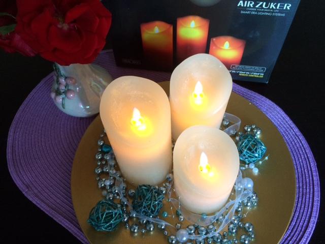 lahr2006 testet: Air Zuker LED Kerzen mit beweglicher ...