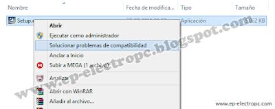 instalar programas o controladores de windows xp en windows 7, 8.1 y 10