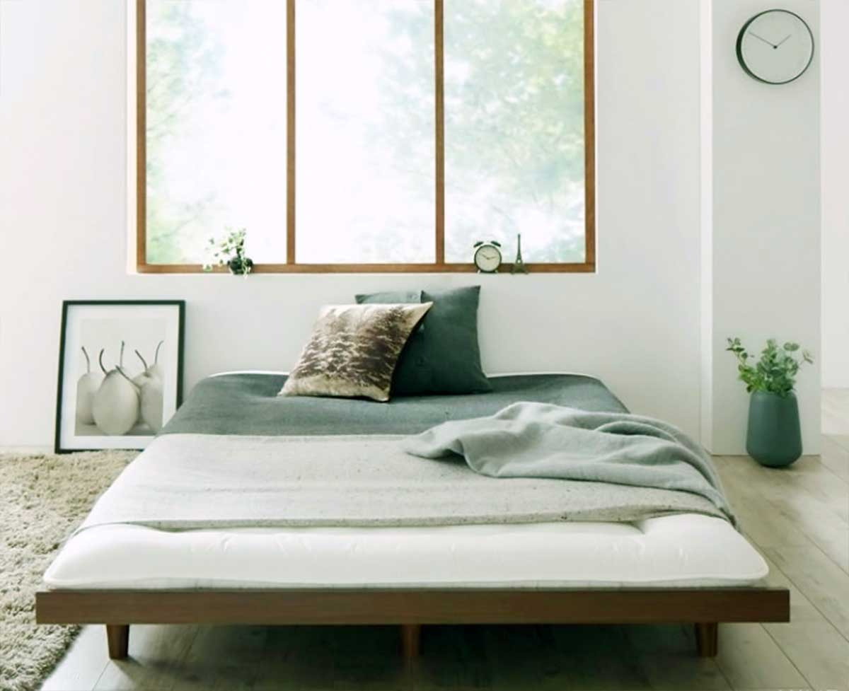 Japanese Futon Bed Platform Design