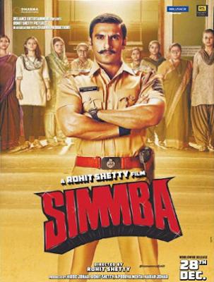 Simmba 2018 Full Hindi Movie Download HDRip 720p