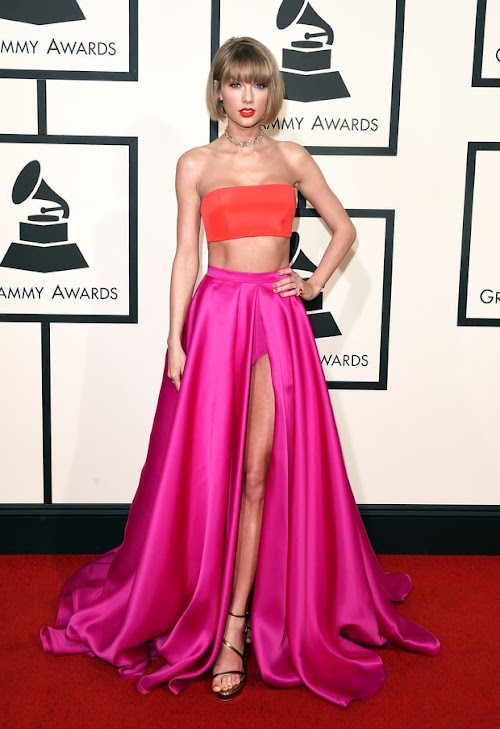 Taylor Swift from the 2016 Grammys red carpet