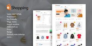 Update: Shopping AMP HTML v1.2 Responsive Blogger Template - Responsive Blogger Template
