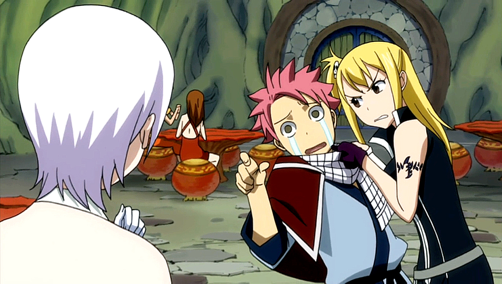 In My Head: Fairy Tail moment ~ Natsu x Lucy