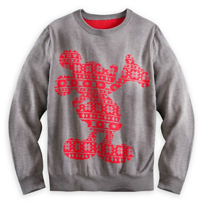 Grey with red Micky Mouse made out of stars