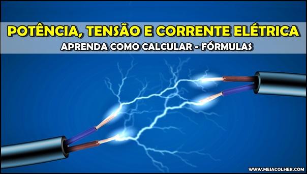 fios elétricos com energia