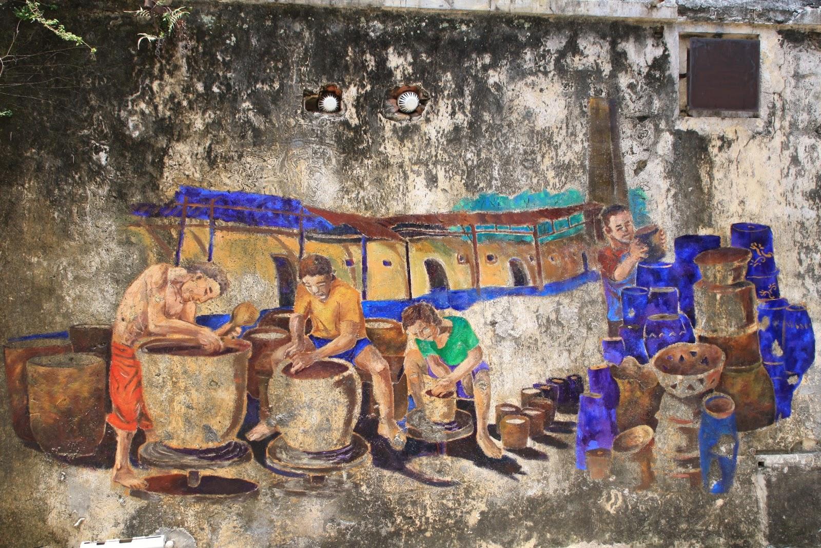 Wall art of ipoh