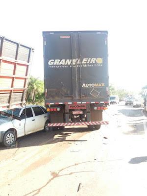 Ultrapassagem em local proibido ocasiona acidente envolvendo quatro veículos no Maranhão