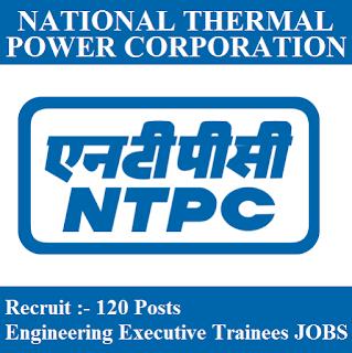 National Thermal Power Corporation, NTPC, Trainee, Executive Trainee, Graduation, freejobalert, Sarkari Naukri, Latest Jobs, ntpc logo