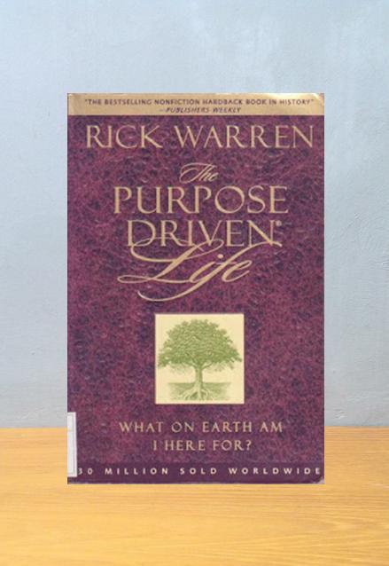 THE PURPOSE DRIVEN LIFE [ENGLISH VERSION], Rick Warren