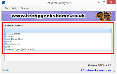 Get WMI Query v1.6 Released 3