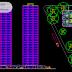 """مخطط برج شيكاغو """"اعادة تصميم"""" اوتوكاد dwg"""