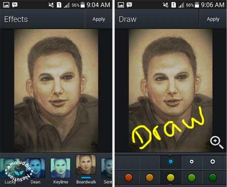aplikasi edit foto Moment Selfy dengan efek keren