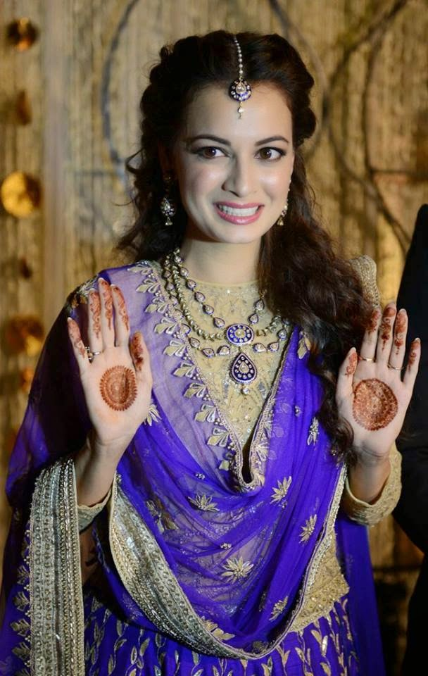 Engagement Photos of Dia Mirza and Sahil Sangha
