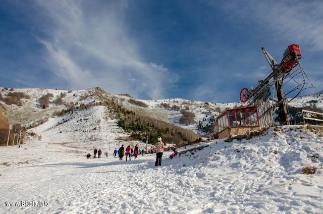 Nize Pole Ski Center – Baba Mountain - Macedonia - 07-01-2018