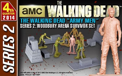 The Walking Dead PVC Army Men Series 2 Daryl Dixon & Woodbury Arena Survivor Set by Gentle Giant