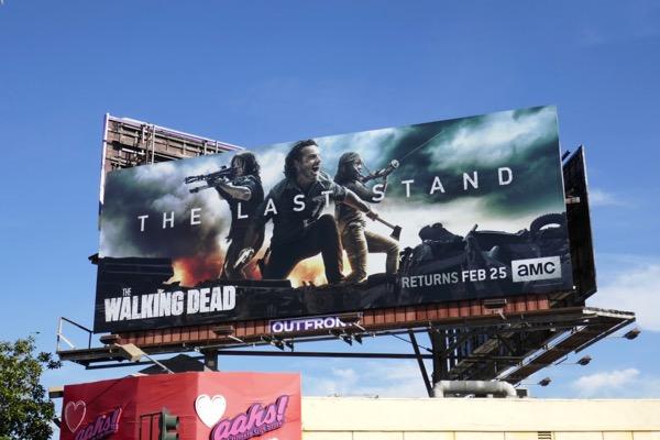 Walking Dead season 8 part 2 billboard