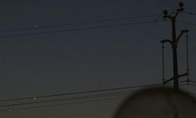 צדק נוגה וכוכב חמה 28/5/2013