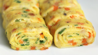 Resep Tamagoyaki - Telur dadar Gulung ala Jepang