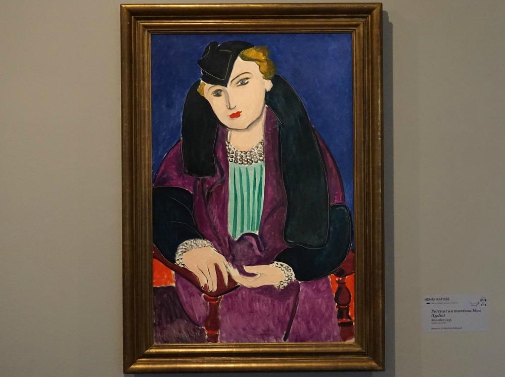 Matisse's Lydia 2018 exhibition Bonnard Museum