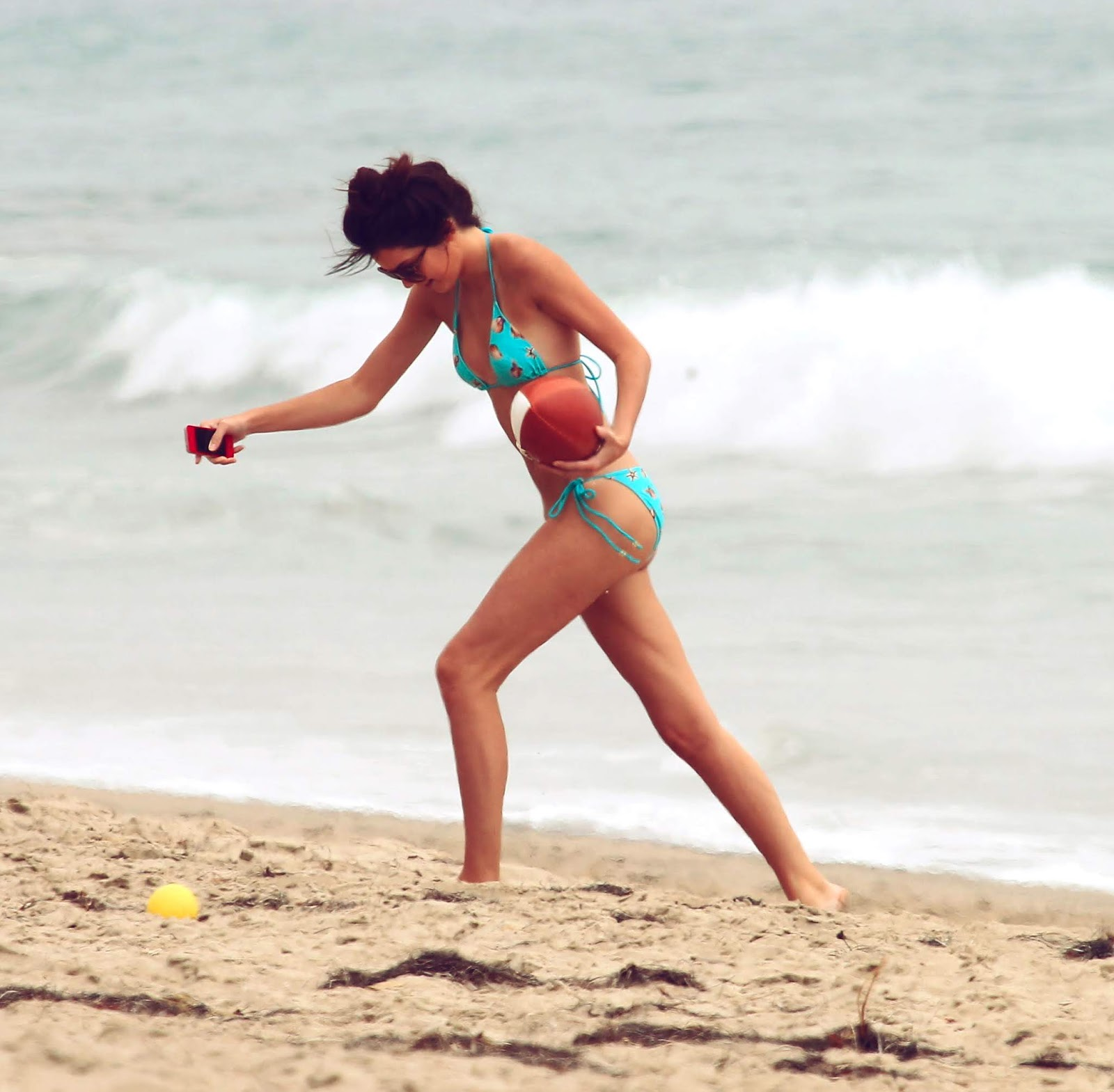 28 - At a Beach with friends in Malibu California on July 14, 2012