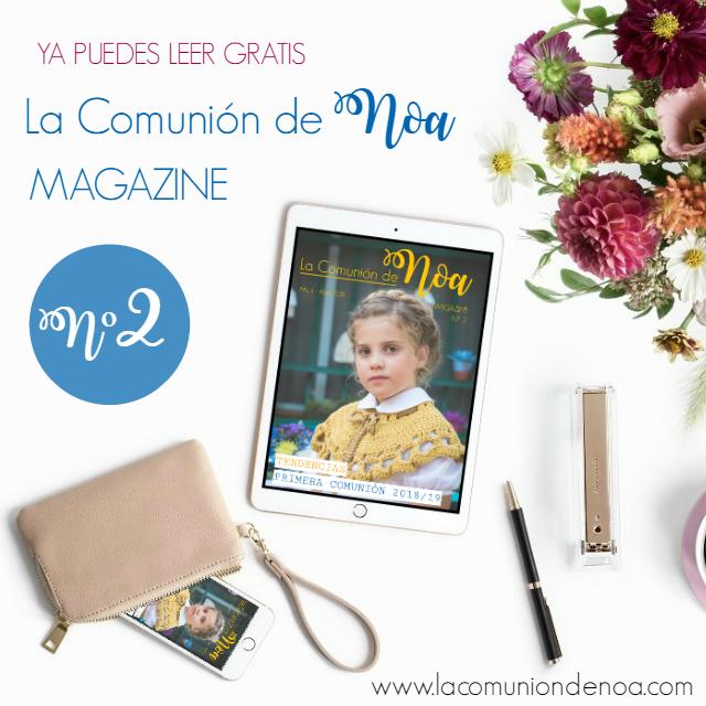 revista primera comunion la comunion de noa magazine n2