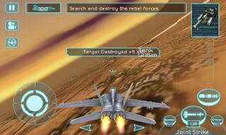 Game: Tom Clancys H.A.W.X 3.4.6 APK + DATA Direct Link