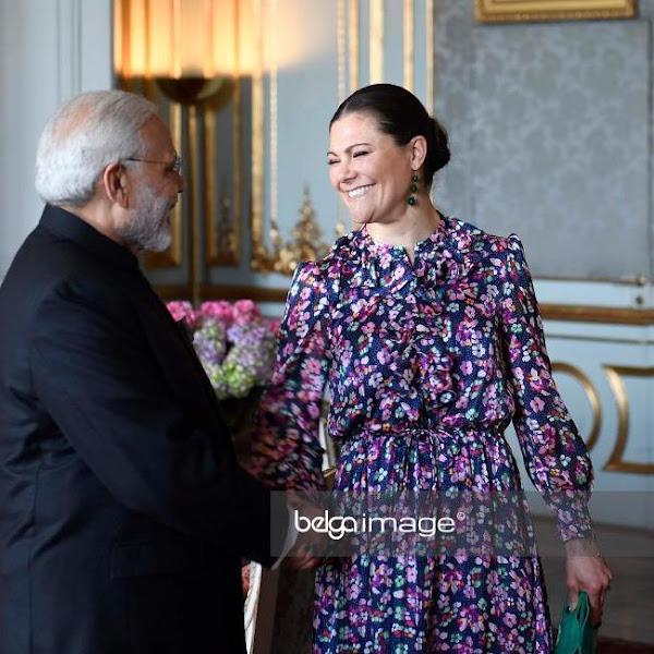Audiencja dla Premiera Indii + wizyta w Blekinge