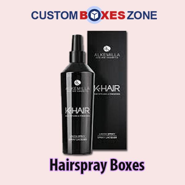 Custom Hairspray Packaging