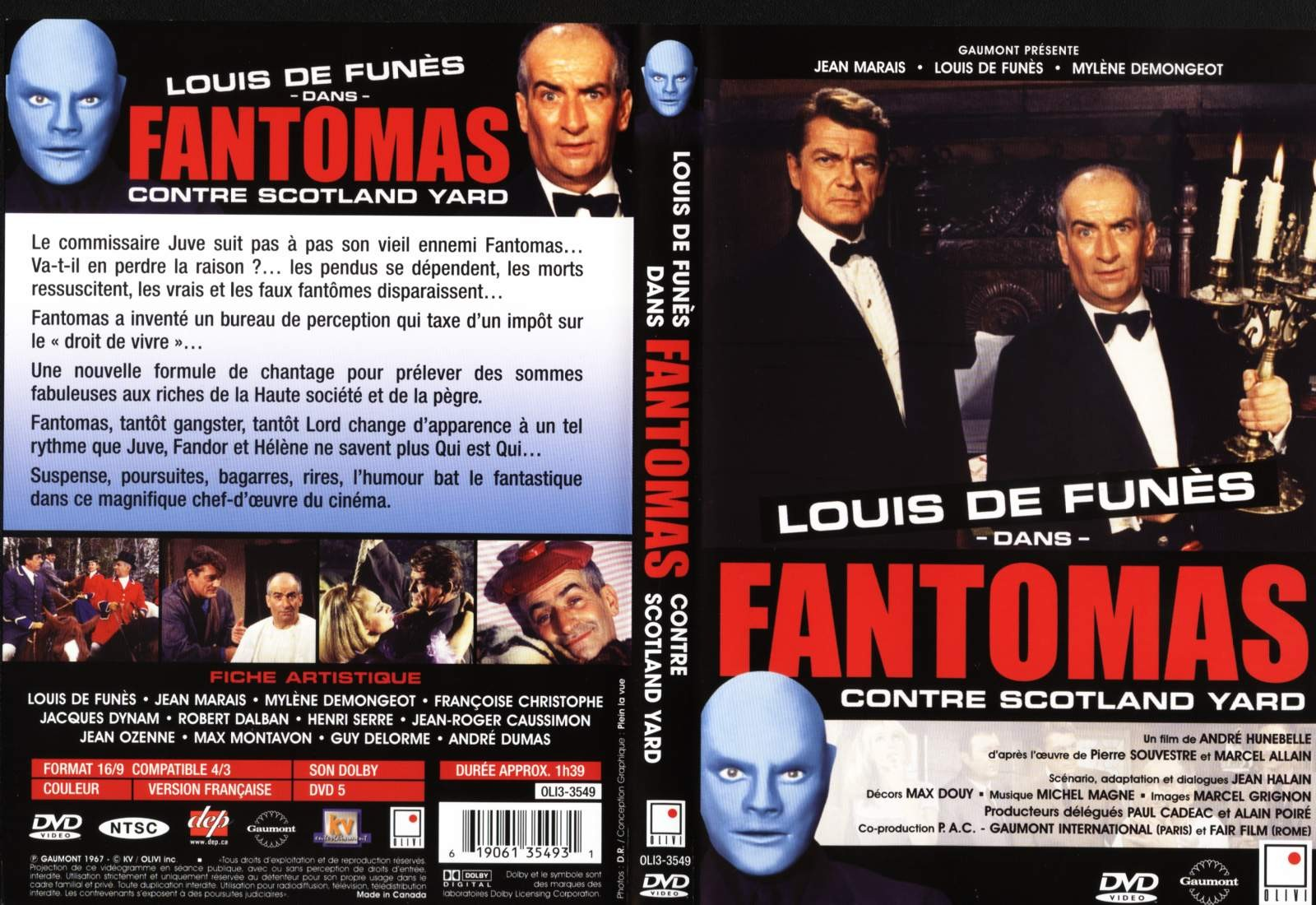 fantomas contre scotland yard