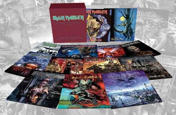 IRON MAIDEN: Video trailer για την βινυλιακή επανακυκλοφορία όλων των albums απο το 1990 και μετά