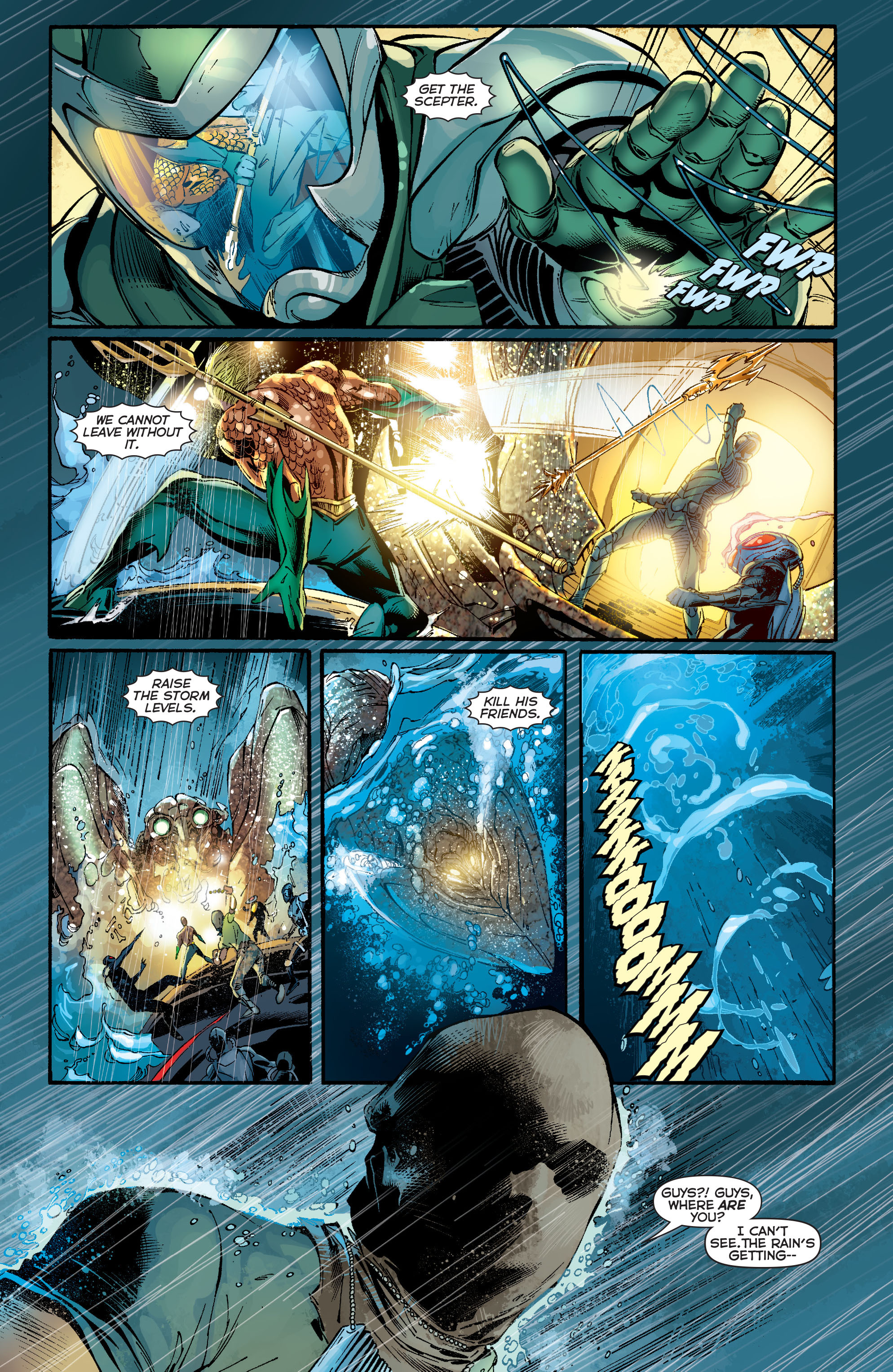 Read online Aquaman (2011) comic -  Issue #13 - 13