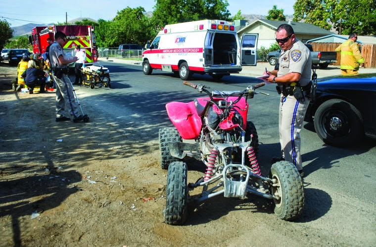 tulare county porterville quad vehicle collision conner street alex cervantes