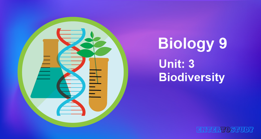 KIPS 9th Class Biology Notes Unit 3: Biodiversity