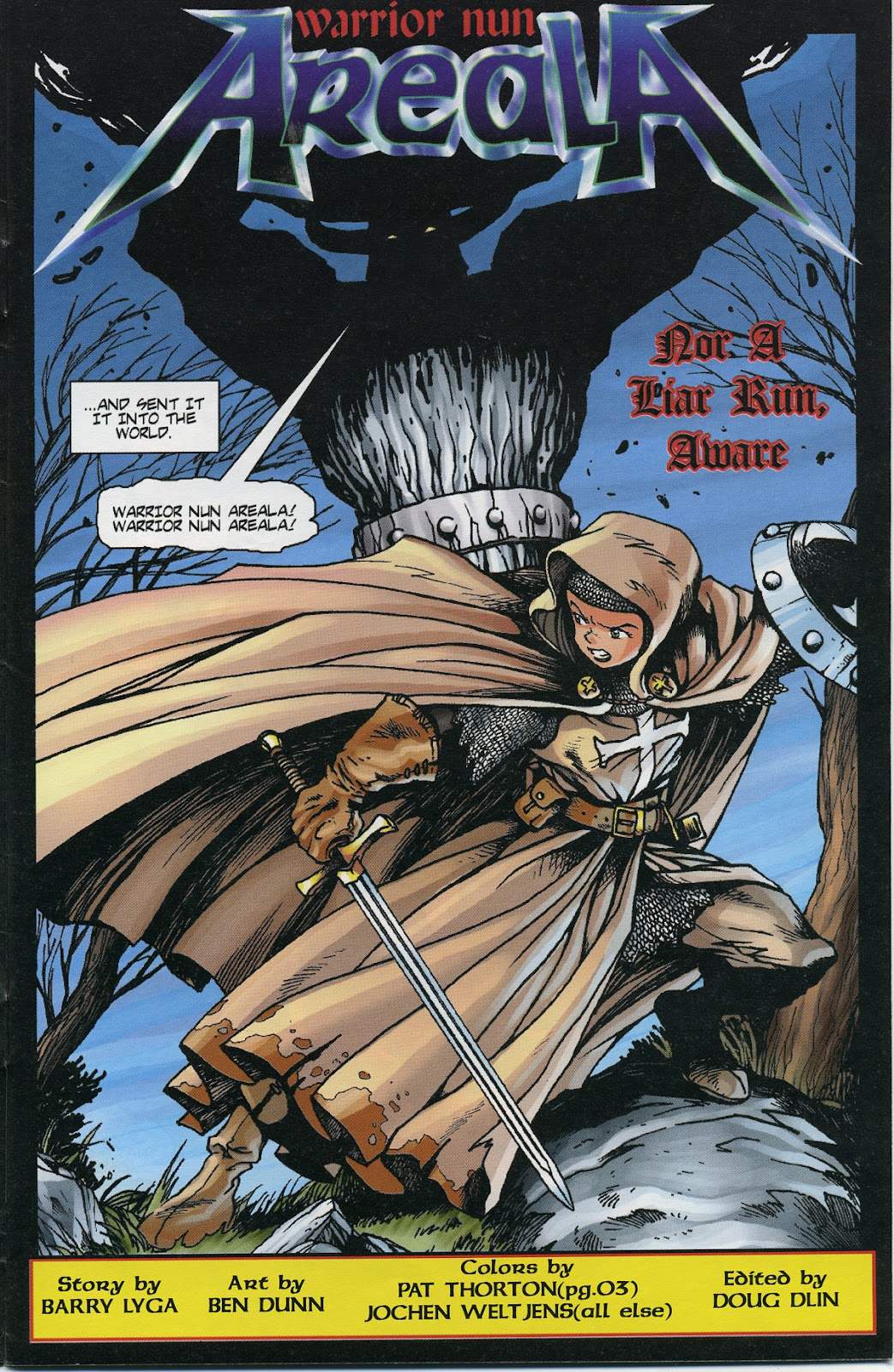 Warrior Nun Areala (1997) Issue #6 #6 - English 5