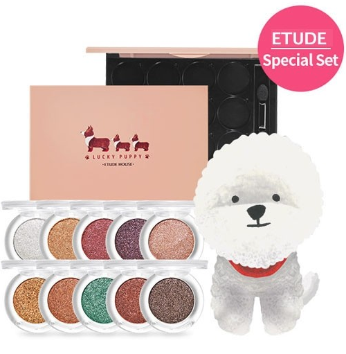 Lucky Puppy Eye Shadow Package