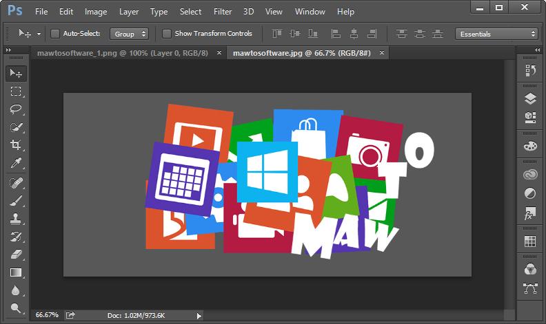 โหลด Photoshop CC Lite [Portable][Full] ไฟล์เล็ก แบบไม่ต้องติดตั้ง