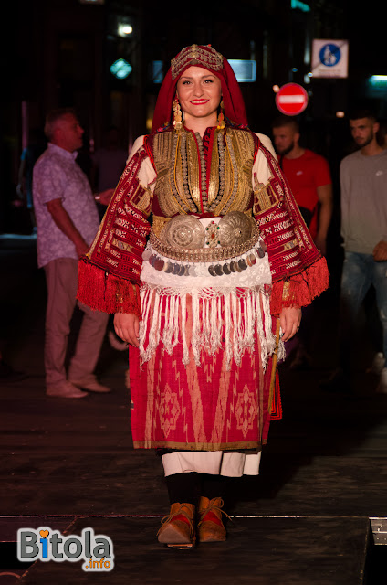 Macedonian national costume - Ethnic area Mala Reka - Miaks - bride costume