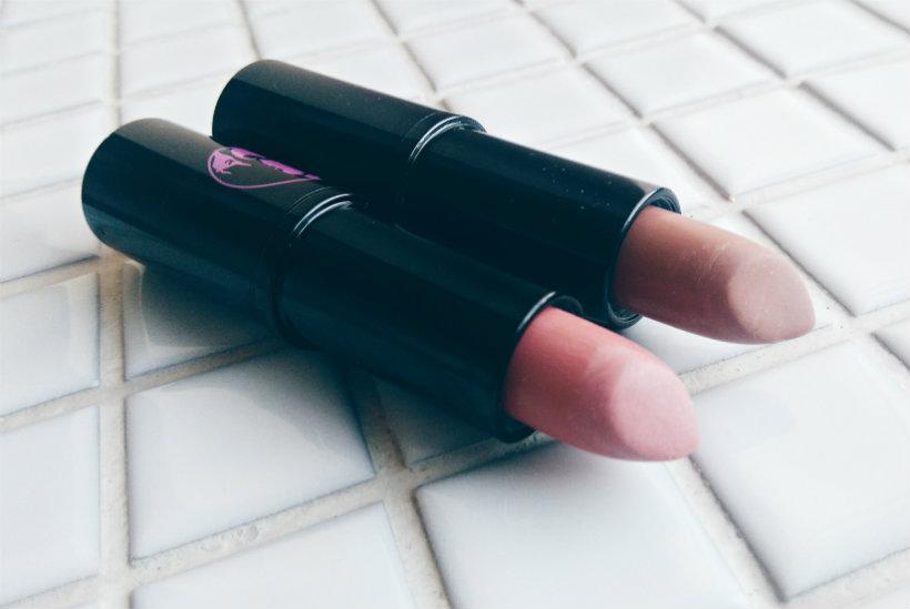 Lippy Girl Vegocentric Lipsticks in Ski Bunny and Surf Betty