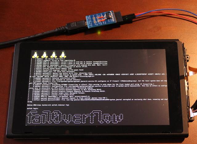 إختراق نينتندو سويتش Nintendo Switch و تثبيت لينكس عليه