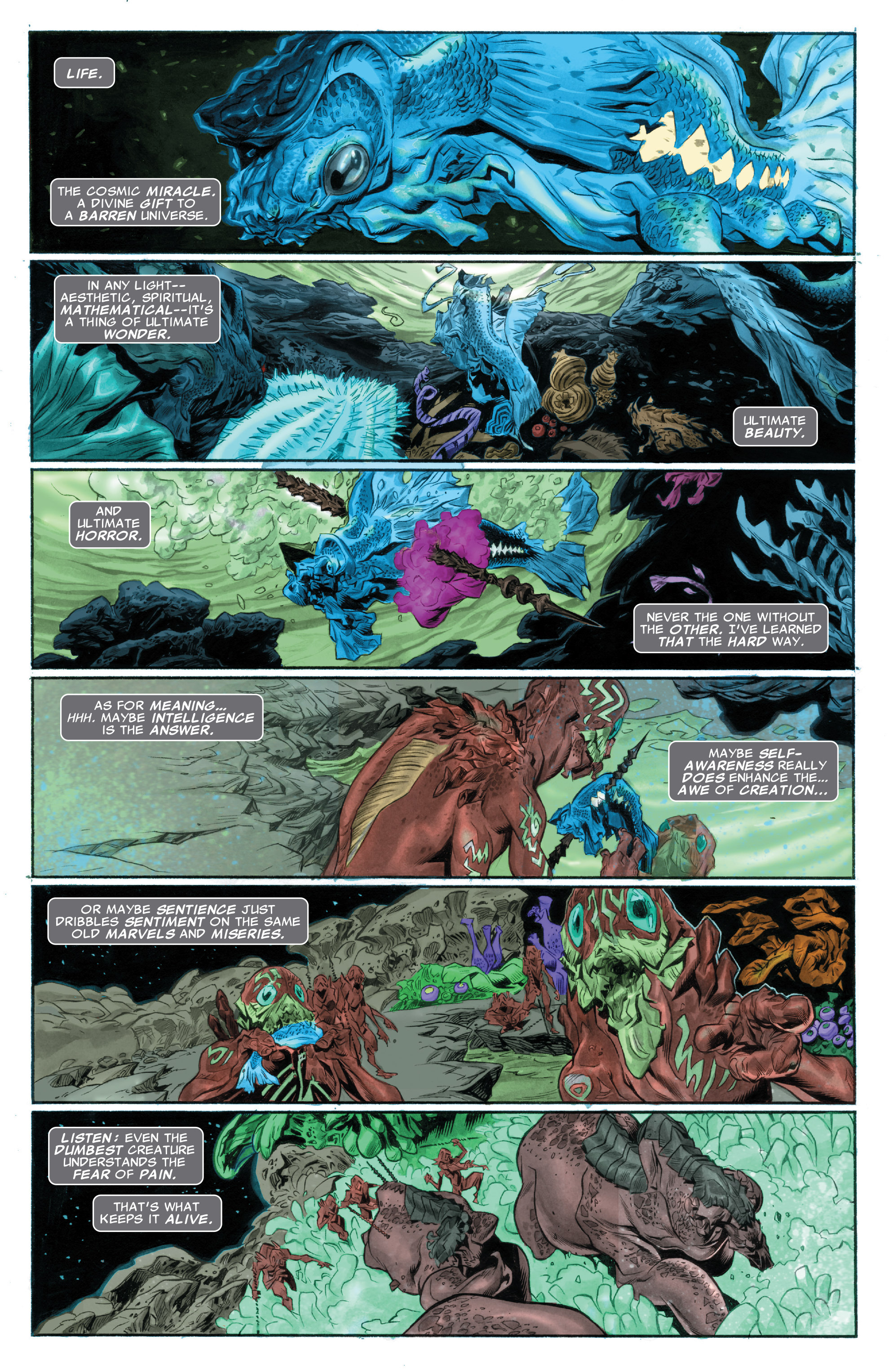 Read online Silver Surfer: In Thy Name comic -  Issue #1 - 3
