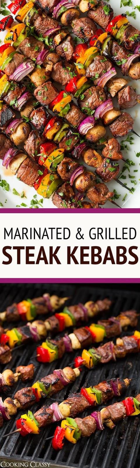 Steak Kebabs