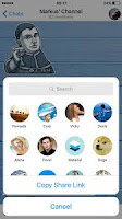 Telegram Apk file format for android and tablets