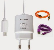 Portronics POR 326 Battery Charger for Rs.149 | USB & Aux Cable for Rs.99 Only @ Flipkart (Limited Period Deal)