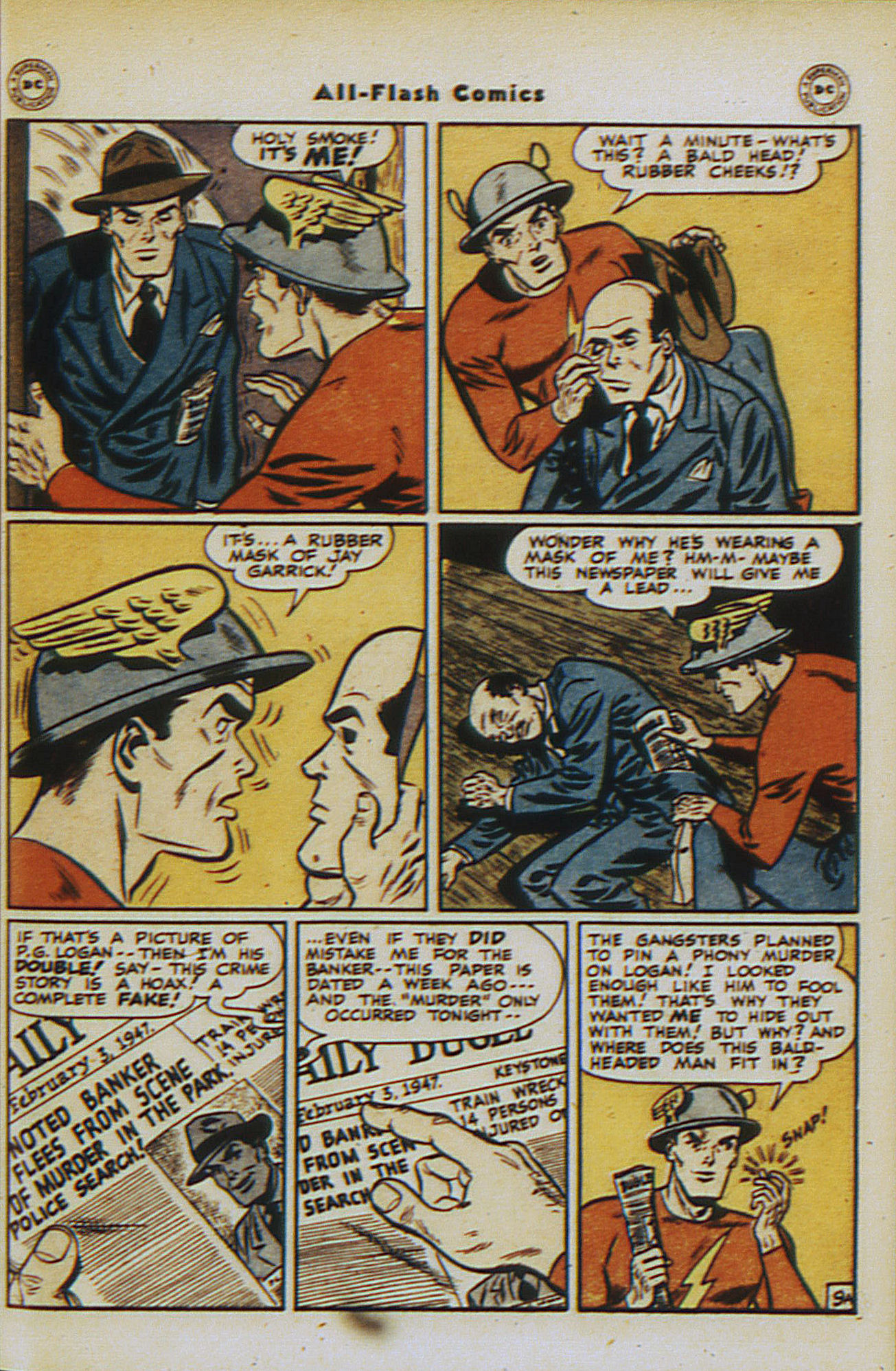 Read online All-Flash comic -  Issue #30 - 11