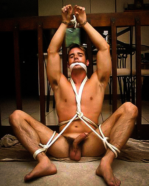 Naked Male Tied